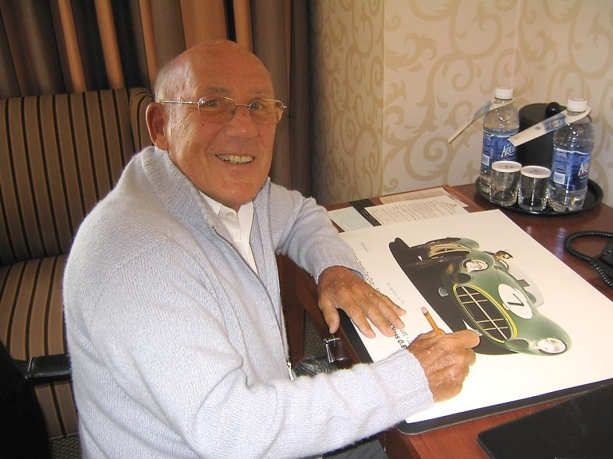 Sir Stirling Moss at the 2005 Madison Sports Car Club Anniversary